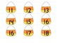 Candy Corn Teen Number