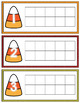 Candy Corn Ten Frame Counting Mats