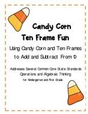 Candy Corn Ten Frame Fun