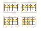 Candy Corn Ten Frame Matching