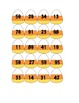 Candy Corn Ten's Place Value Game/Sort - K-2