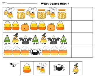 Letter C-Candy Corn Thematic Unit Preschool & Early Kindergarten