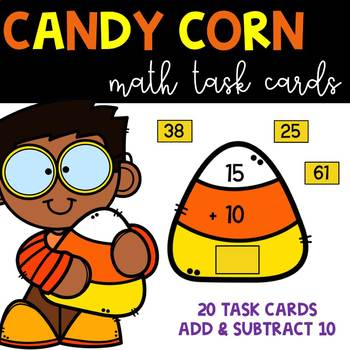Candy Corn Themed Add & Subtract 10