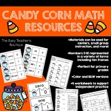 Candy Corn Themed Math Resources-Primary Grades