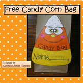 Halloween Crafts, Candy Corn Bag