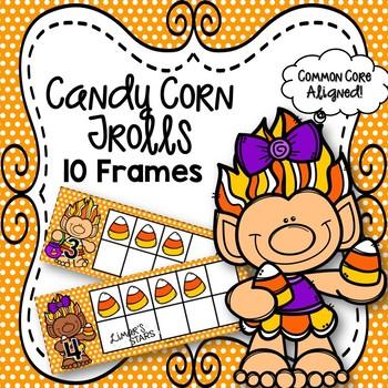 Candy Corn Trolls 10 Frames