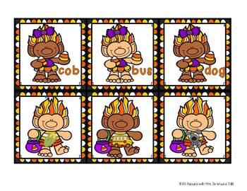 Candy Corn Trolls: A Short Vowel Word Building Activity