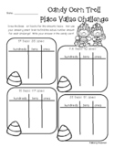 Candy Corn Trolls Place Value Challenge