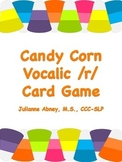 Candy Corn Vocalic /r/ Card Game
