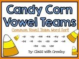 Candy Corn Vowel Teams