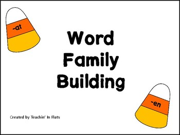 Candy Corn Word Families