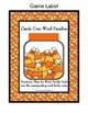 Candy Corn Word Family Sorting Mats