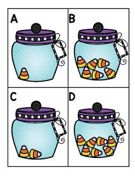 Candy Corn Write the Room Numbers!
