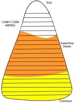 Candy Corn Writing Bulletin Board
