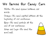 Candy Corn Writing Craftivity