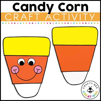 Candy Corn Cut and Paste