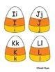 Candy Corn/Halloween/Fall Alphabet Match (Self Correcting) Center
