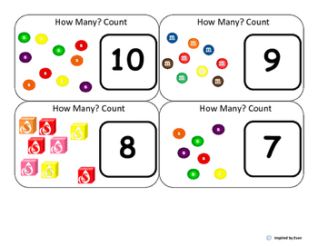 Candy Count and Compare for Autism