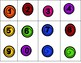 Candy Counting 0-20 Tens Frames