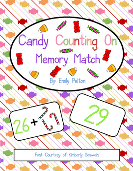 "Candy ""Counting On"" Memory Match"