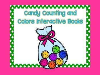 Candy Counting and Color Activities