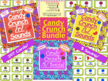 Candy Crunch Sounds - Articulation Bundle!