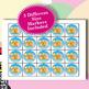 Candy Crush 4x4 Bingo 30 Cards