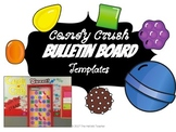 Candy Crush Inspired Bulletin Board Templates
