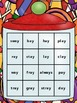 Candy Crush!  Long A Vowel Digraphs- ai / ay