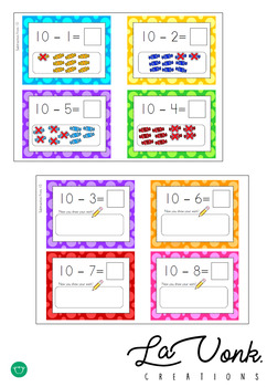 Candy Crush Math - Addition and Subtraction to 10