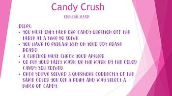 Candy Crush for Any Subject