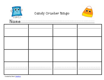 Candy Crusher First Grade Dolch Word Practice Games