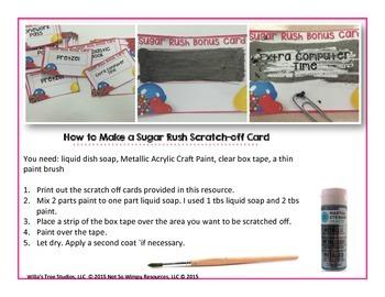 Candy Crushin' Homework: A Homework Incentive Bulletin Board System