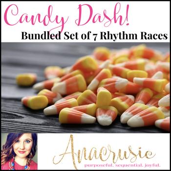 Candy Dash! - Bundled Set of 7 Rhythm Games