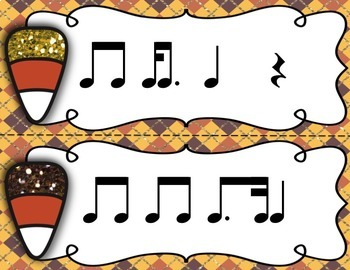 Candy Dash! - Dotted Eighth & Sixteenth Note Combinations Rhythm Games