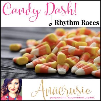 Candy Dash! - Half Note Rhythm Games
