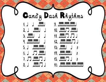Candy Dash! - Sixteenth Notes Rhythm Games