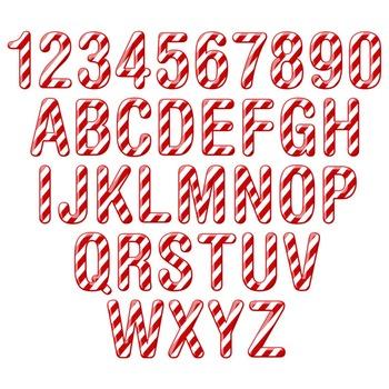Candy Digital Alphabet - F00001