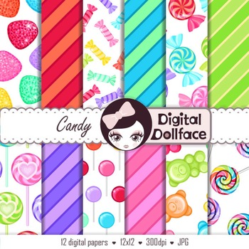 Candy Digital Paper