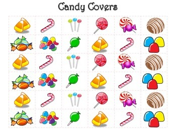 Candy Doubles Crush, Doubles and Near Doubles Facts
