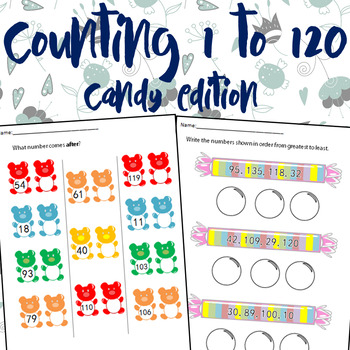 Candy Edition Numbers 1-120 Eng.&Span.