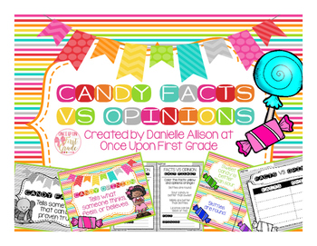 Candy Facts VS Opinion Pack