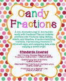 Candy Fractions using Skittles, Smarties, & M&M's