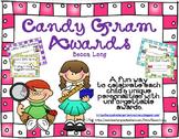 Candy Gram Awards - Editable