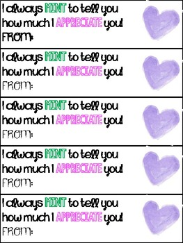 Candy-Gram Labels