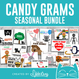 Candy Grams Bundle   Perfect for Class Treat or School Fundraiser