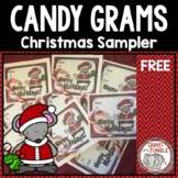 Candy Grams Christmas Sampler - Free