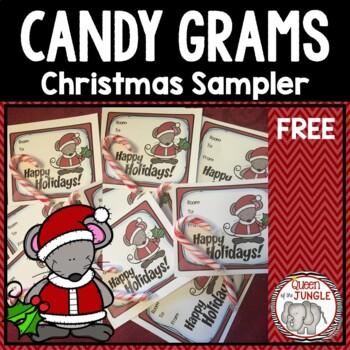 Christmas Candy Gram Flyer Www Picswe Com