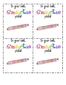 Candy Grams - Motivate your students for their tests!