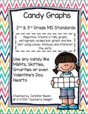 Candy Graph 2.MD.10 or 3.MD.3 Tally, Pictograph, Bar Graph